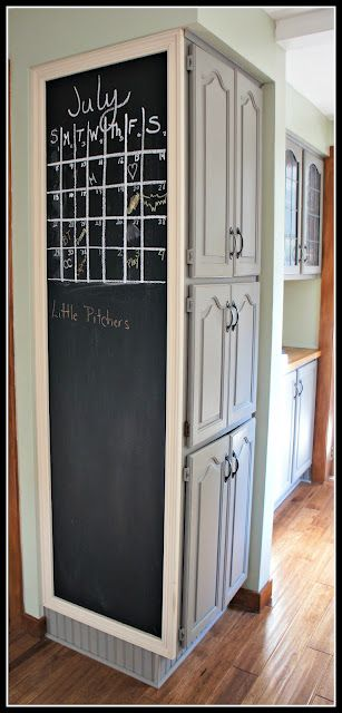 Superieur Kitchen Chalkboard...... We Could Do This!!