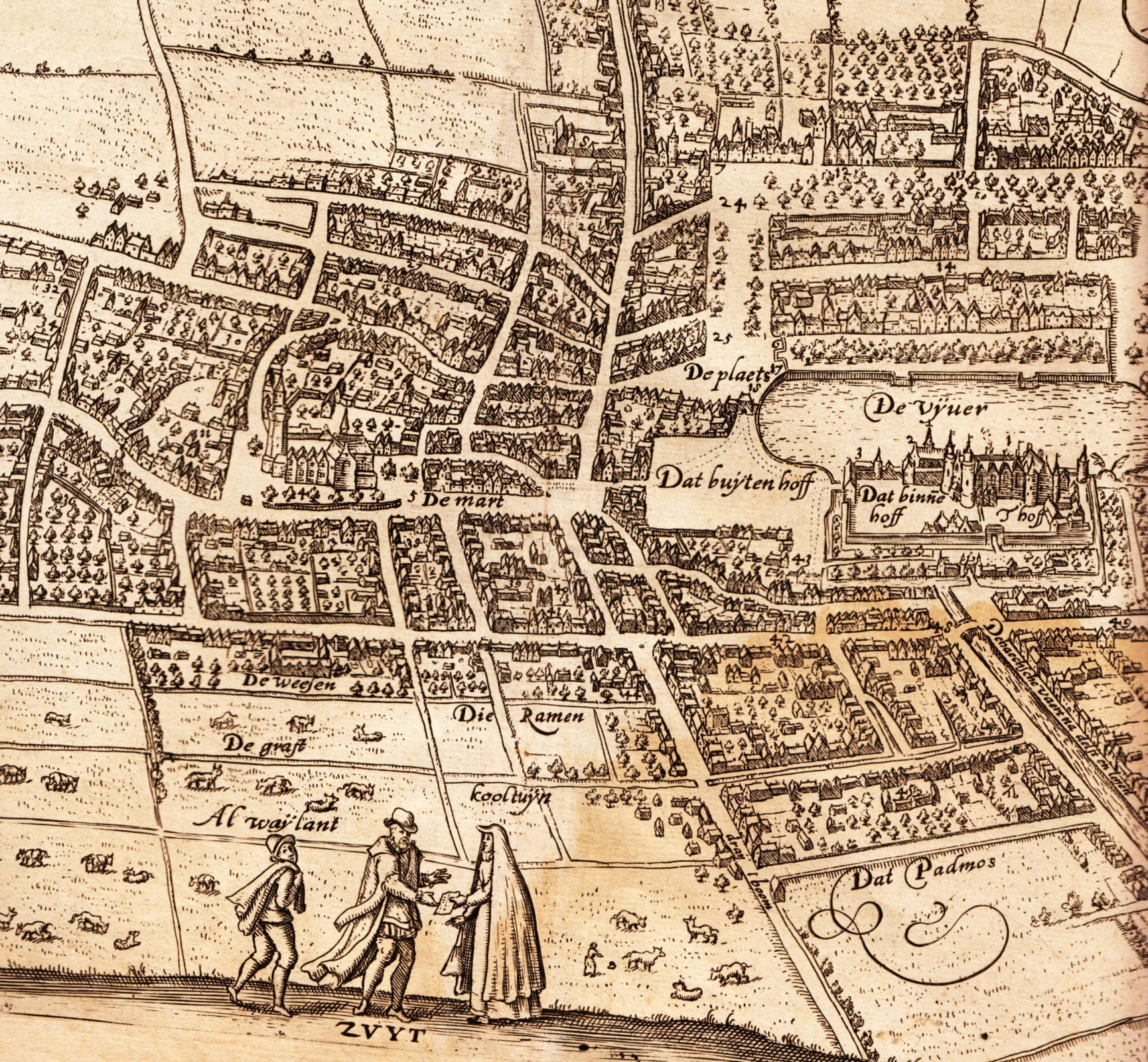 Old map The Hague Holland Old Maps and Explorers Pinterest