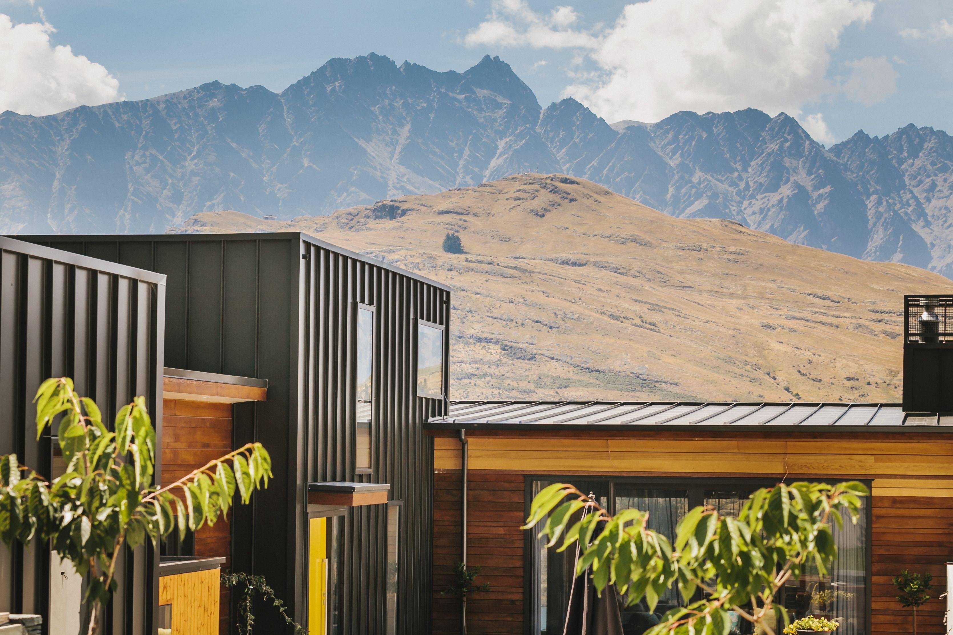 exterior metal cladding nz. colorsteel® ironsand roofing and cladding - queenstown new zealand exterior metal nz
