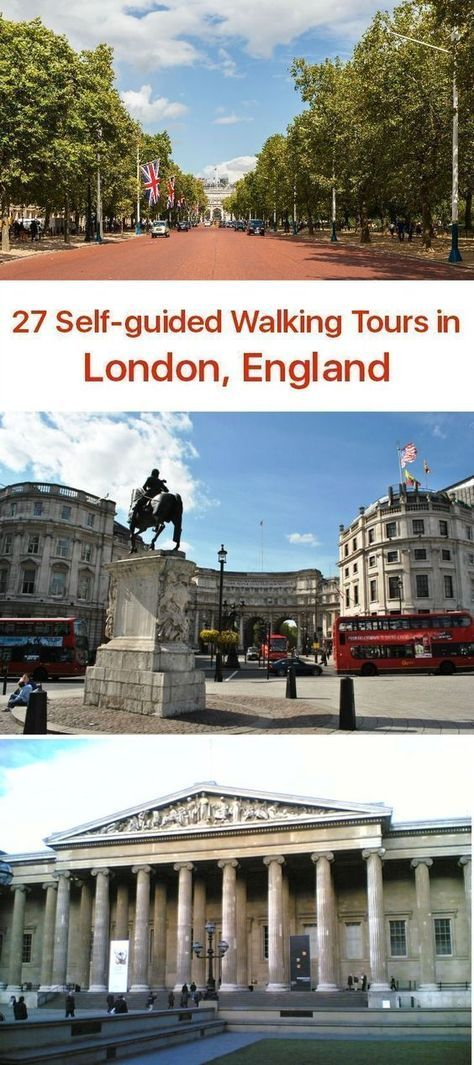 21 Self-Guided Walking Tours in London. England + Create Your Own Walk   Walks in london. London travel. England travel