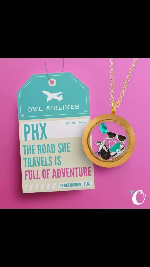 Love to Fly? Show it with your Locket www.kristiwatts.origamiowl.com  Designer No. 7609