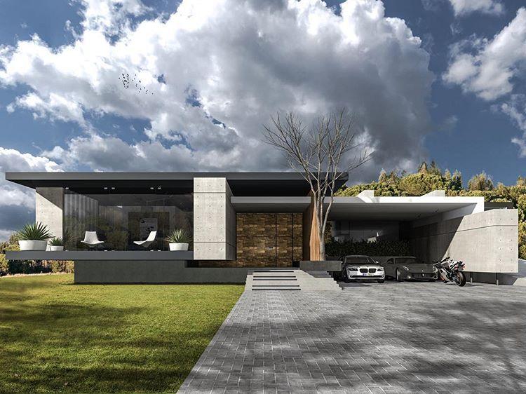 Villa H5 One Floor Plan Rasdreamhouses Architecture