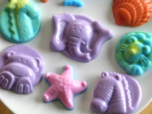 Make home made soap with kids