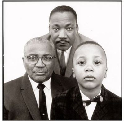 Richard Avedon Reverend Martin Luther King Jr With His Father