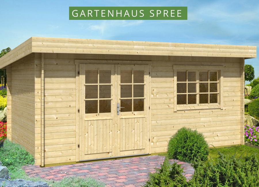 Gartenhaus Spree28 A Gartenhaus pultdach, Gartenhaus
