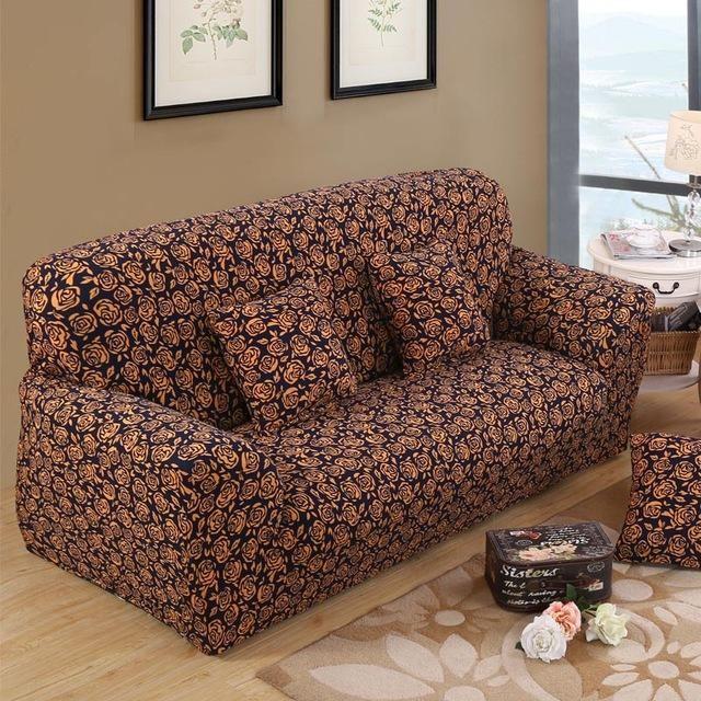 Wondrous Sofa Chair Cover Printed Design Elastic Armchair Protector Squirreltailoven Fun Painted Chair Ideas Images Squirreltailovenorg