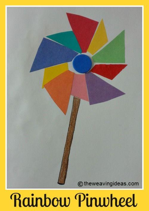 Rainbow Art Crafts For Preschoolers Kindergartens