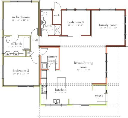modern house plans by gregory la vardera architect 0499 sage modular - Open Modern Floor Plans