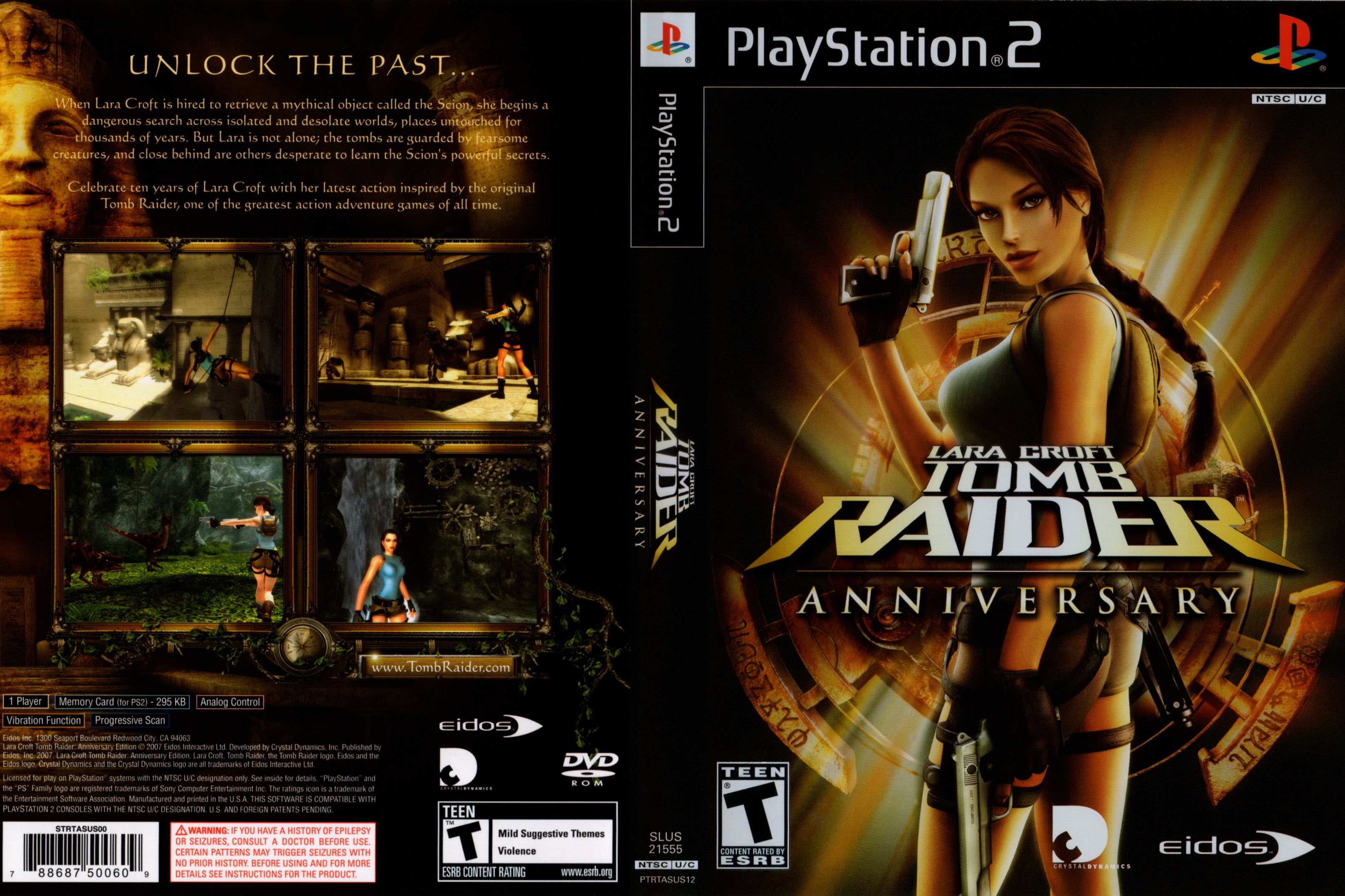 tomb raider underworld ps2 capa