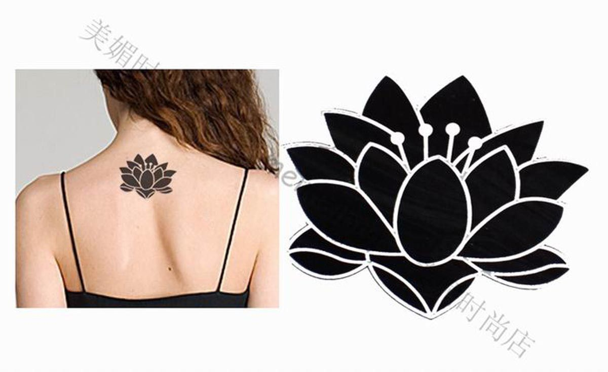 Pics For Black Lotus Flower Drawing Acupuncture Practice