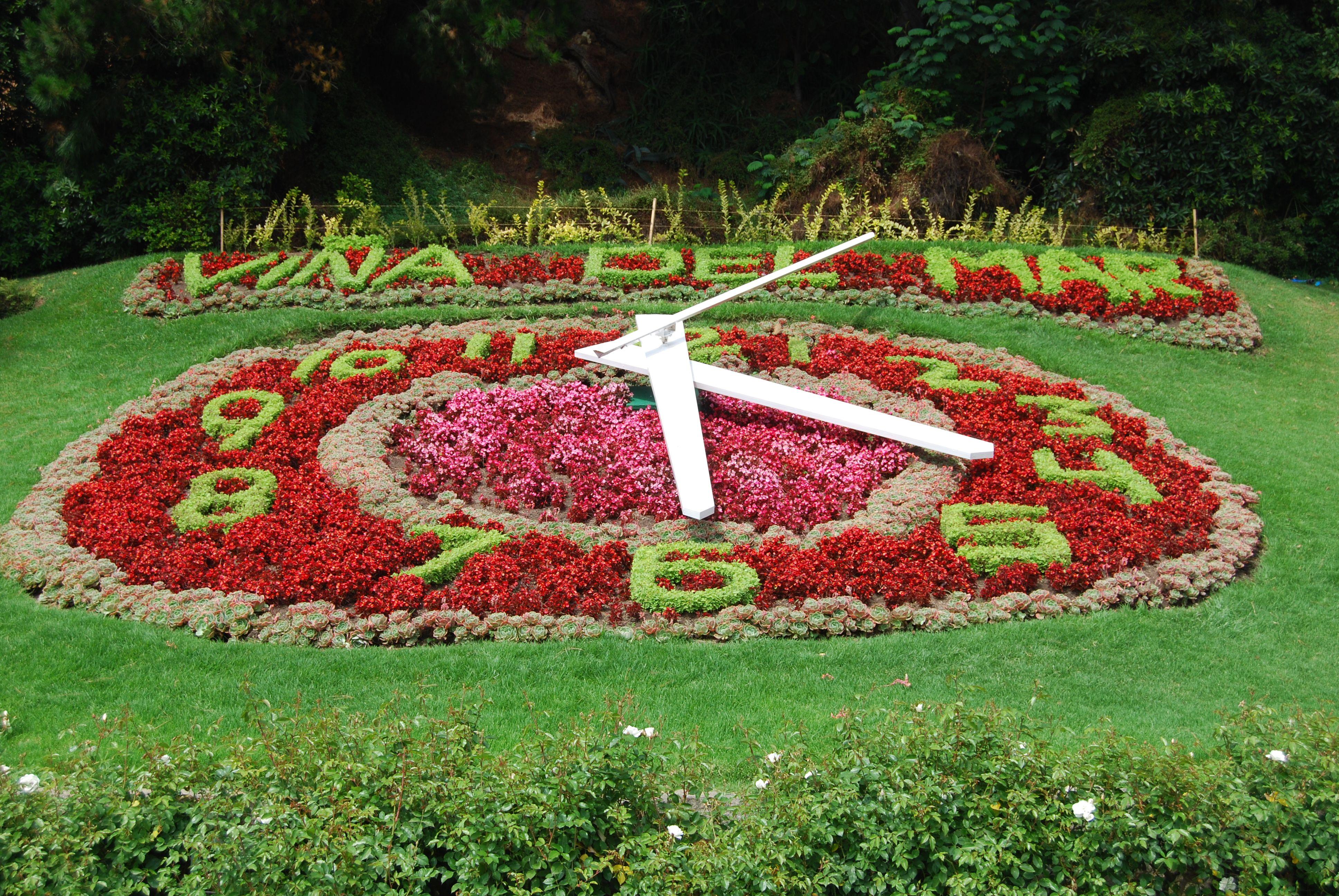 Relógio de Flores, importante ponto turístico e símbolo da cidade de Viña del Mar