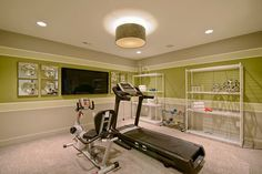 Home Gym Paint Colors | Pulte Homes Design Ideas, Pictures, Remodel .
