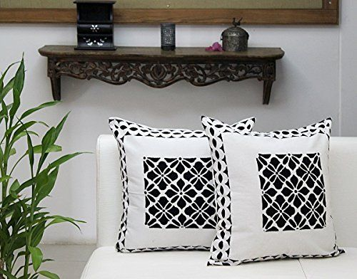 Integrity.1 Grey Pillow Case Cushion Cover,Throw Pillow Covers , 4pcs 45 x 45 cm Home Decoration Pillow Case ,Super Soft Sofa Cushion for Living Room Sofa Bed