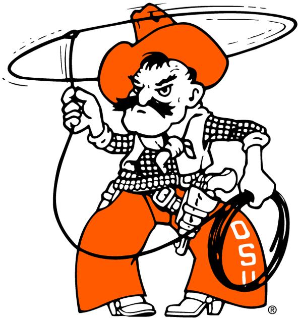 Oklahoma State Cowboys Secondary Logo Ncaa Division I N R Ncaa N R Chris Creamer S Sports Lo Oklahoma State Football Oklahoma State Cowboys Osu Cowboys
