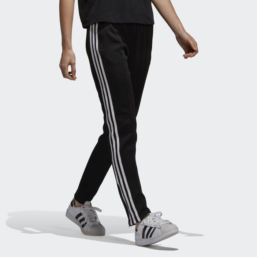Misterio pase a ver como el desayuno  adidas SST Track Pants - Black | adidas US | Pants, Black adidas, Black  pants