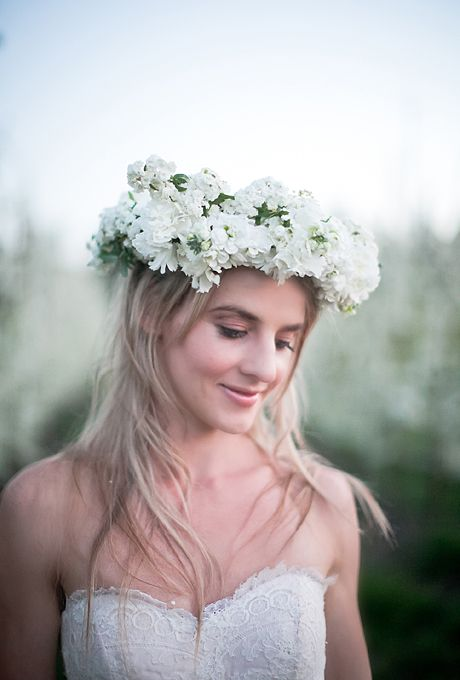 31 Flower Crown Hairstyles for Your Wedding   Wedding Hairstyles ...