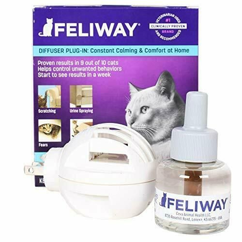 Cat Pheromone Diffuser Training Behavior Aids Feline 30 Day
