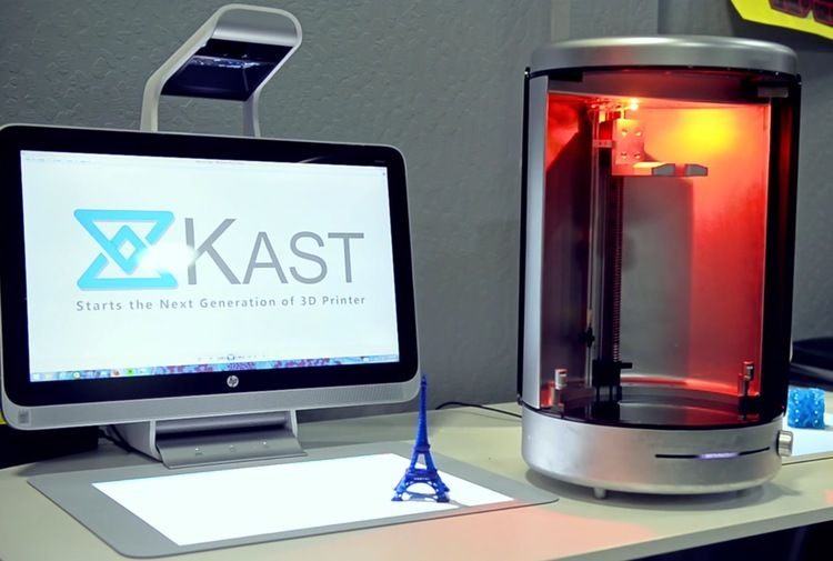Could The Kast 3d Be The Next Carbon3d 3d Printer Printer 3d Printing
