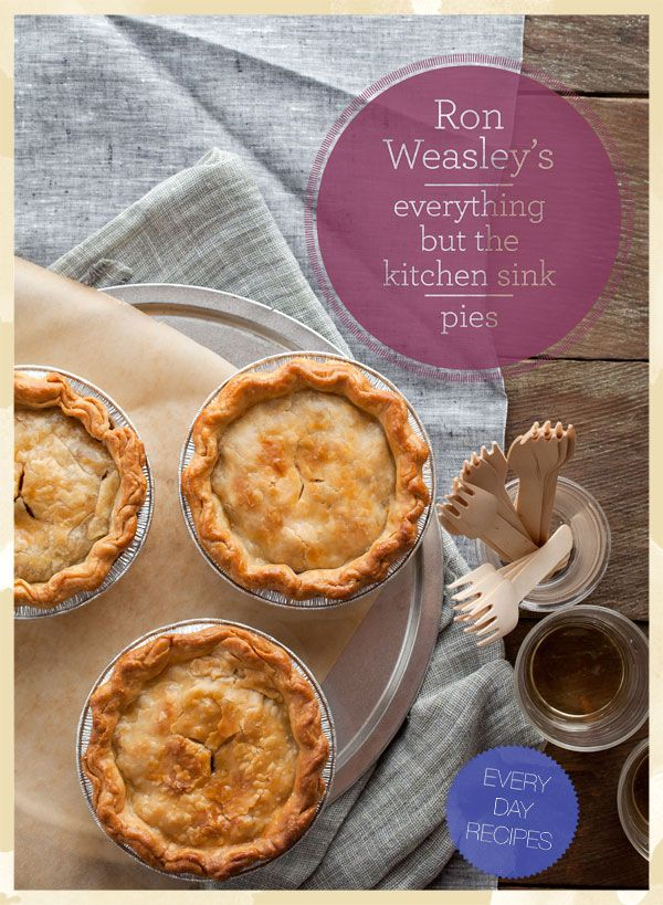 the kitchen sink recipes weasley s eveything but the kitchen sink pie recipe 6078
