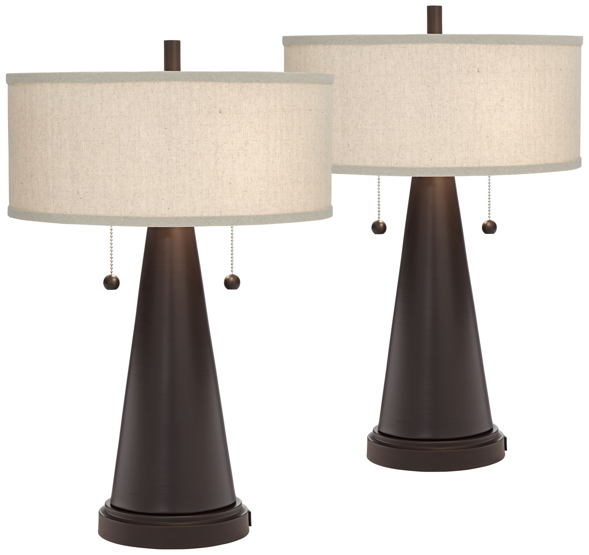 Home | Mid century modern accent table, Bronze table lamp ...