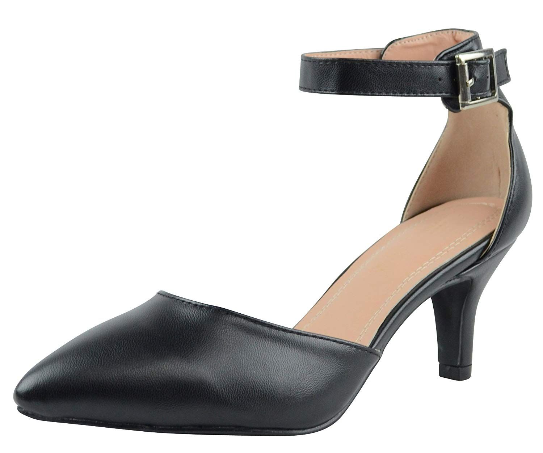 Cambridge Select Womens DOrsay Closed Pointed Toe