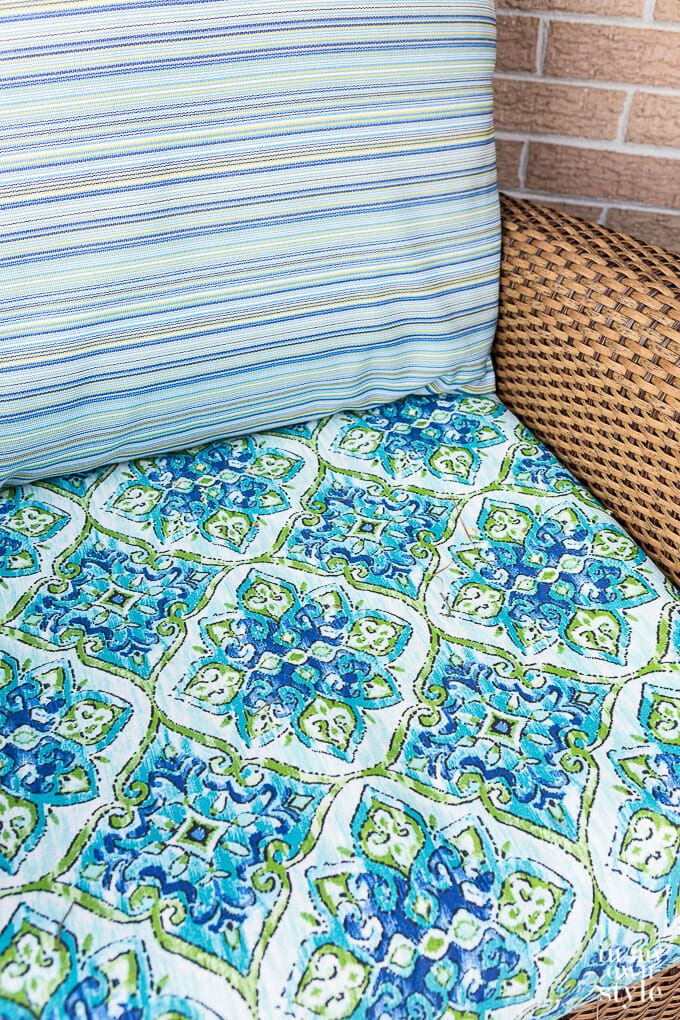 Greendale Home Fashions 42 x 21 in. Outdoor Seat/Back