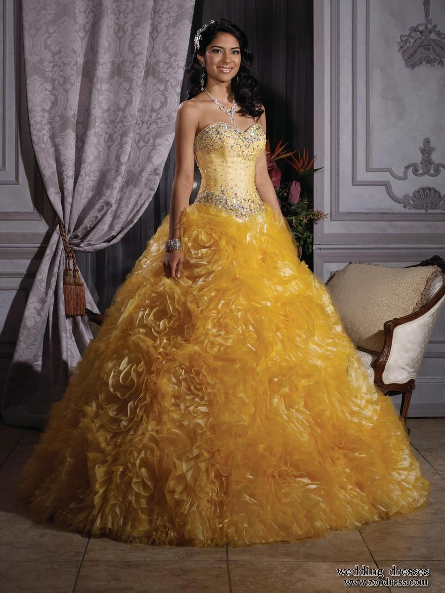 Ball gown cheap quinceanera dresses promdressfo