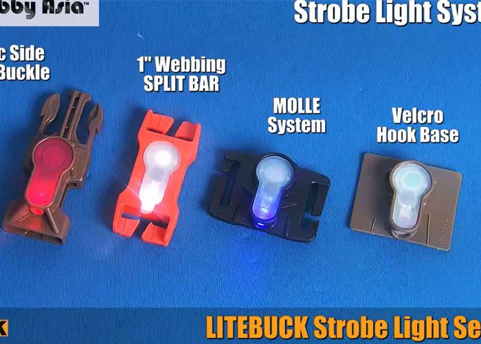 Litebuck Strobe Light Series The Velcro One Is Perfectly Sized To