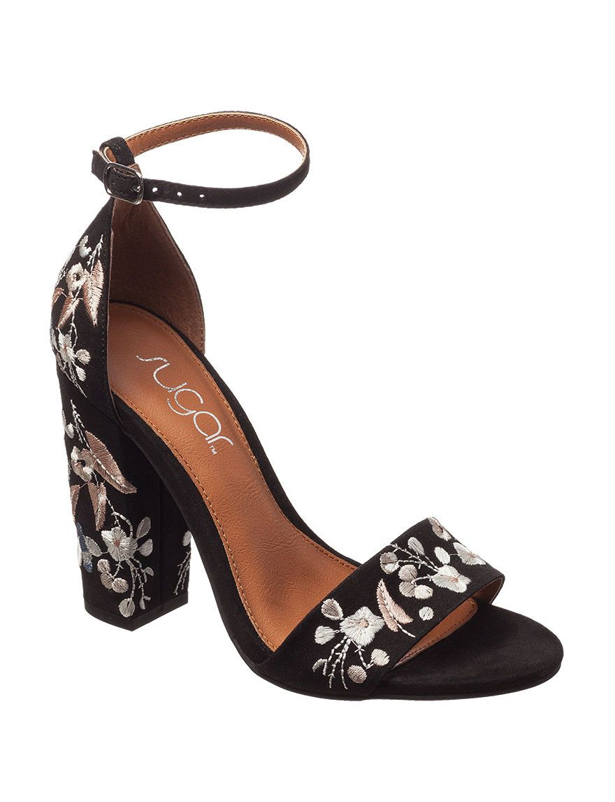 Sugar floral embroidered heels summer pinterest stage stores sugar floral embroidered heels ccuart Image collections