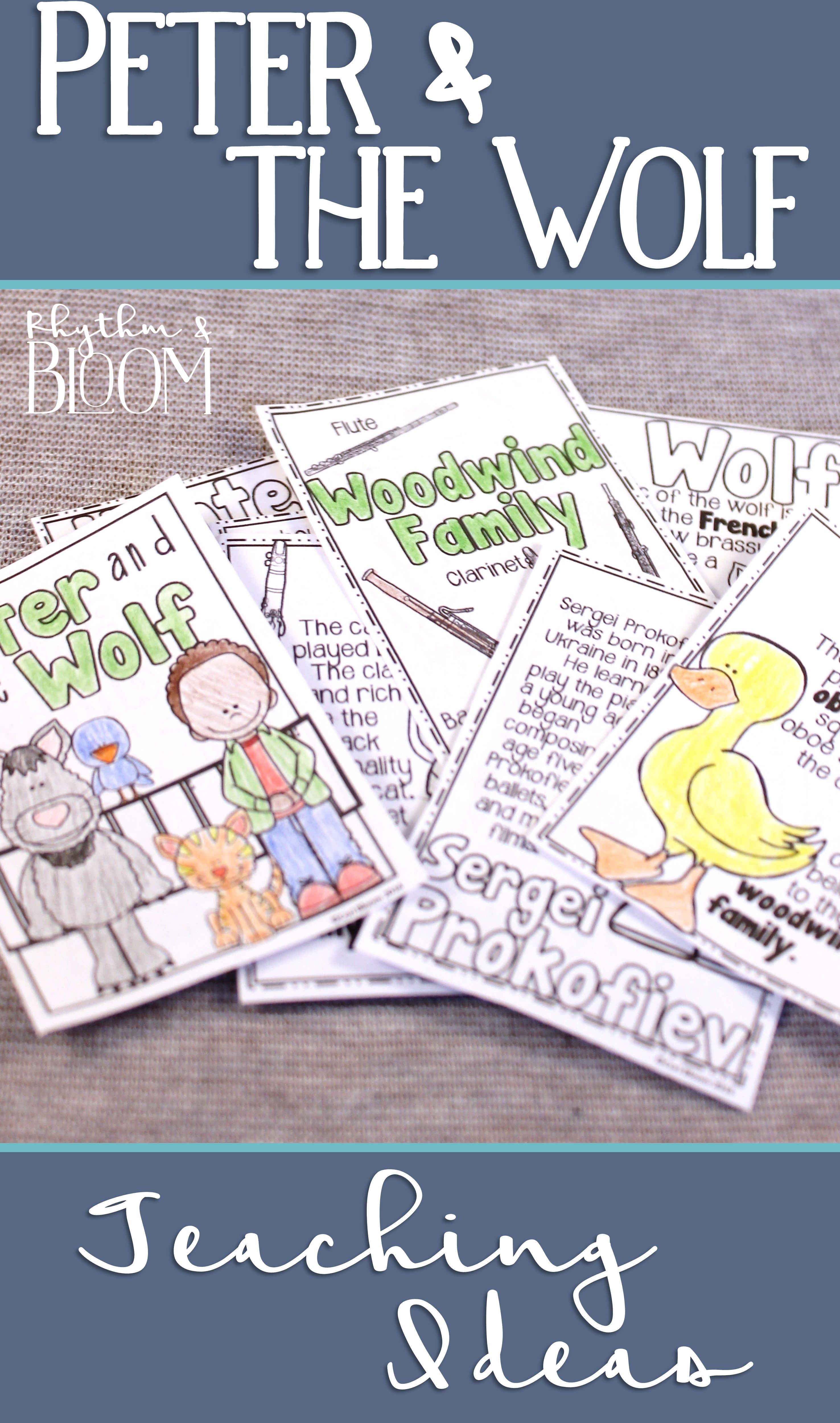 A Collection Of Ideas For Teaching Peter And The Wolf