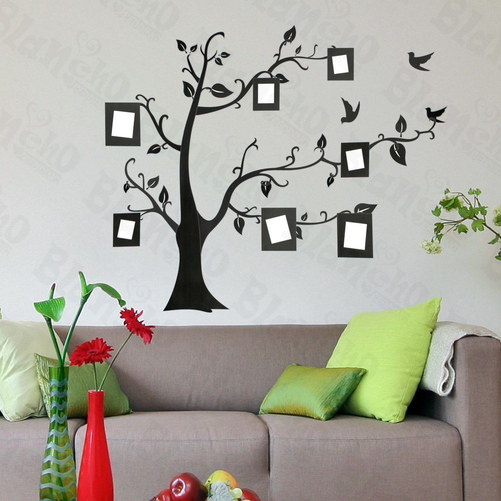 Memory tree large wall decals stickers appliques home decor memory tree large wall decals stickers appliques home decor amipublicfo Choice Image
