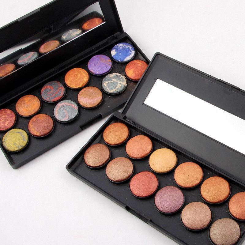 40 Colors Mini Eyeshadow Palette Set Kit Glitter Shimmer