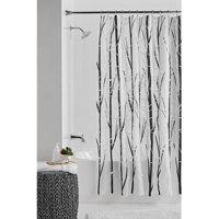 Home In 2020 Black White Shower Curtain White Shower Curtain Shower Curtains Walmart