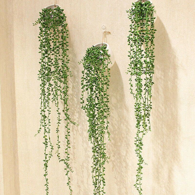 Details About Fake Plants Artificial Succulents Bracket Vines