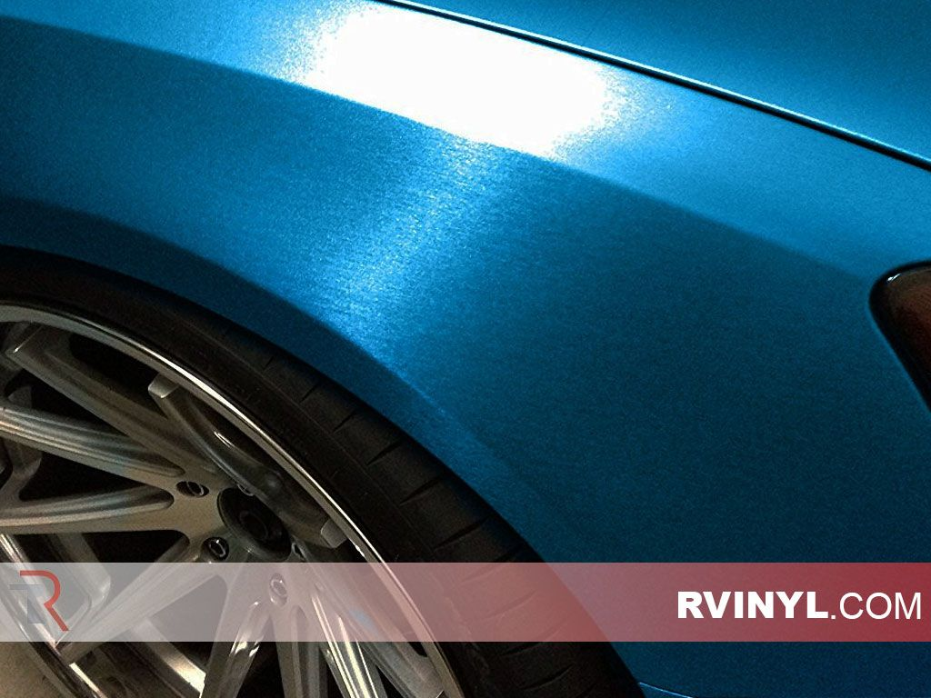 Brushed Steel Blue 3m Wrap 1080 Series Wrap Film Vinyl Wrap Car Blue Vinyl Brushed Steel
