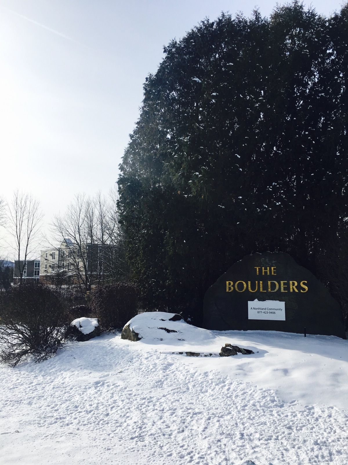 We love the winter season at The Boulders in Amherst ...