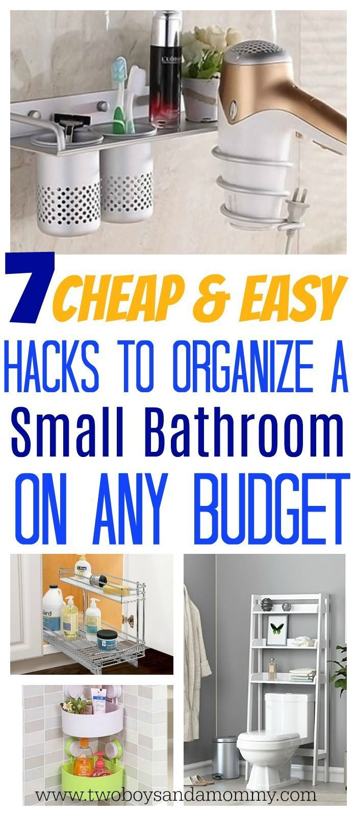 easy hacks to organize a small bathroom small bathroom on clever small apartment living organization bathroom ideas unique methods for an organized bathroom id=98045