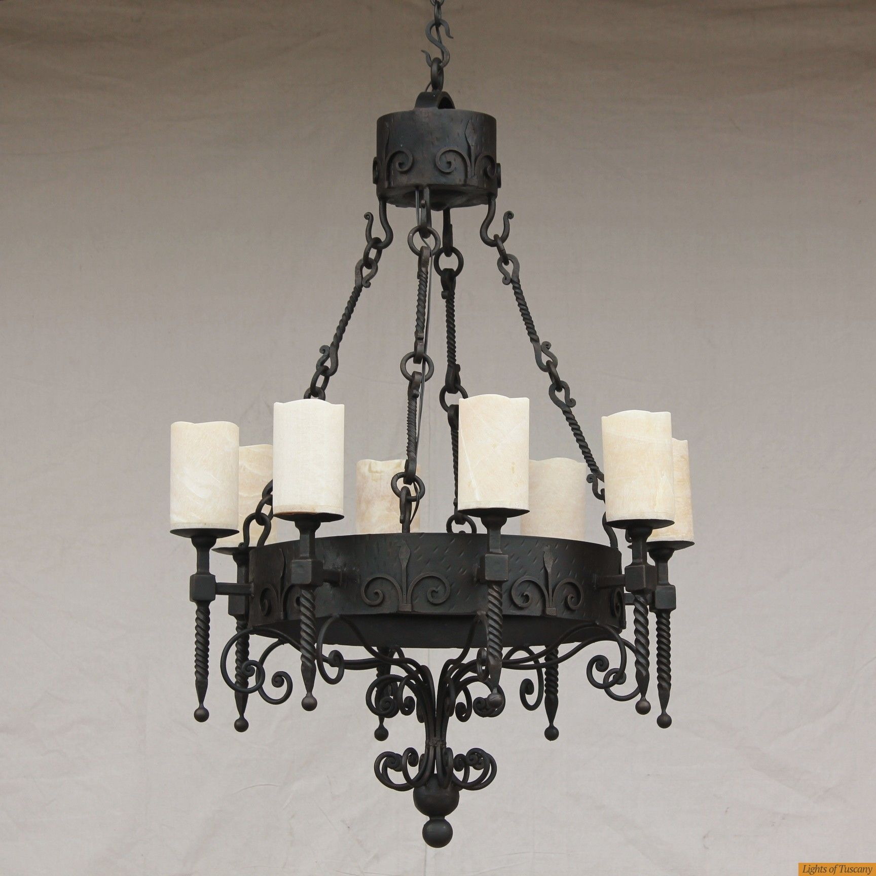Onyx Spanish Wrought Iron Chandelier Spanish Style Furniture