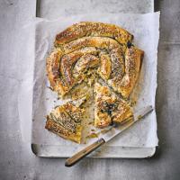 Martha's feta, squash & spinach pie | Spinach pie ...
