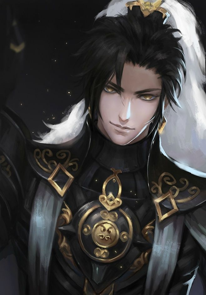 Anime Characters Male Black Hair : Images for anime fantasy pinterest