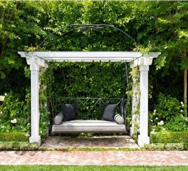 Pergola Bench Seat Gazebo Gazebobenchdesigns Designs Ideas