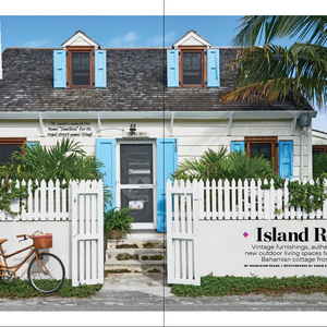How to Restore a Cute Old Beach Cottage in the Bahamas #beachcottageideas