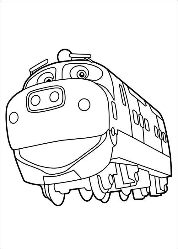 Dibujos para Colorear Chuggington 6   Dibujos para colorear para ...