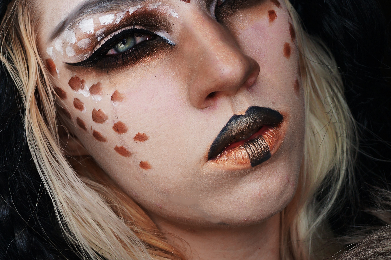 Hunger Games District 10 Livestock Inspired Makeup