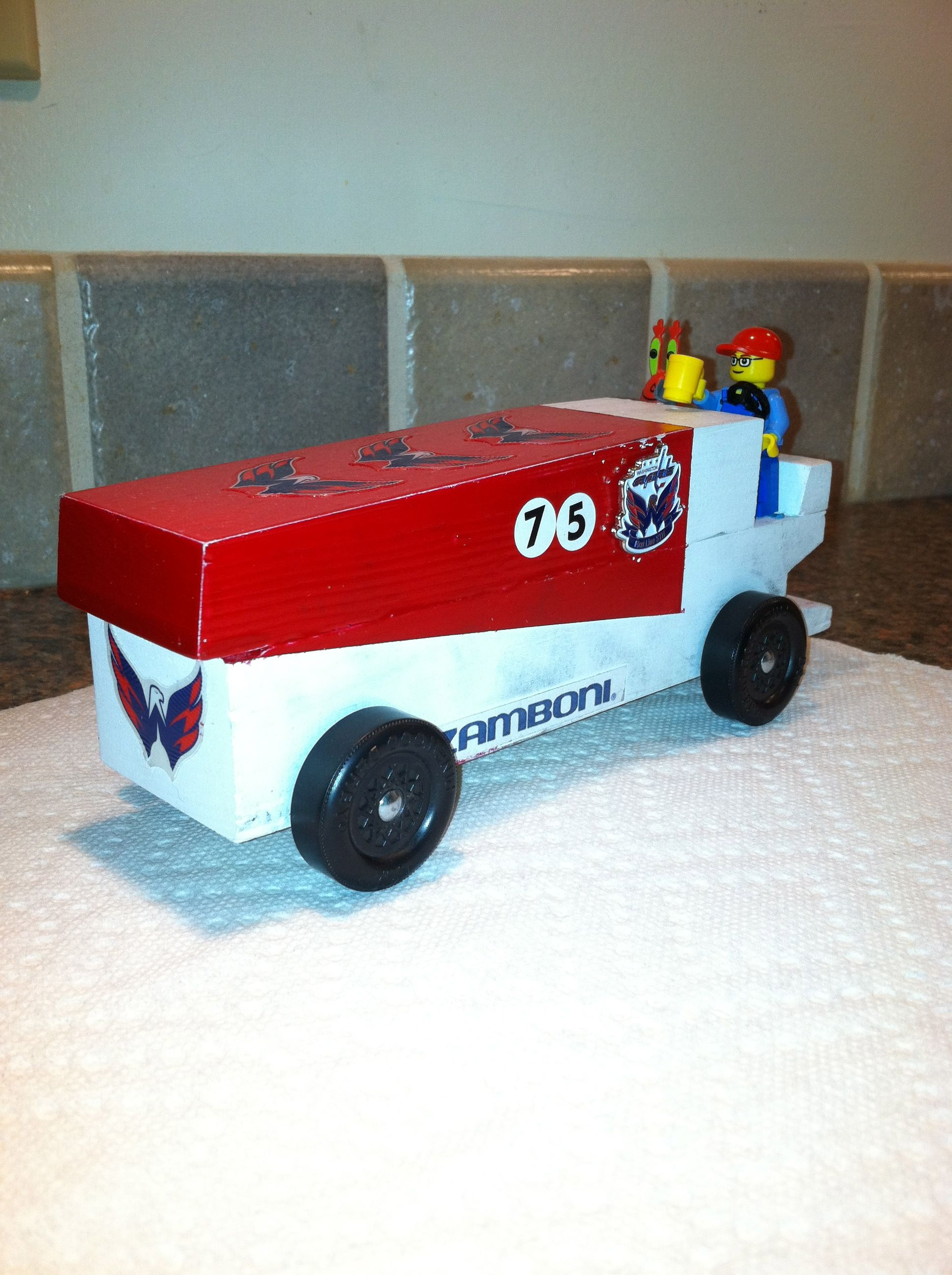 hockey pinewood derby cars - Google Search | Inspiring Ideas | Pinterest