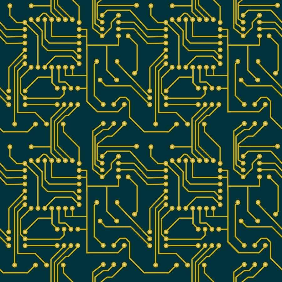 Circuit Pattern Design Patterns Colours Structures Wzory Types Of Printed Boards Pcb Universe Inc