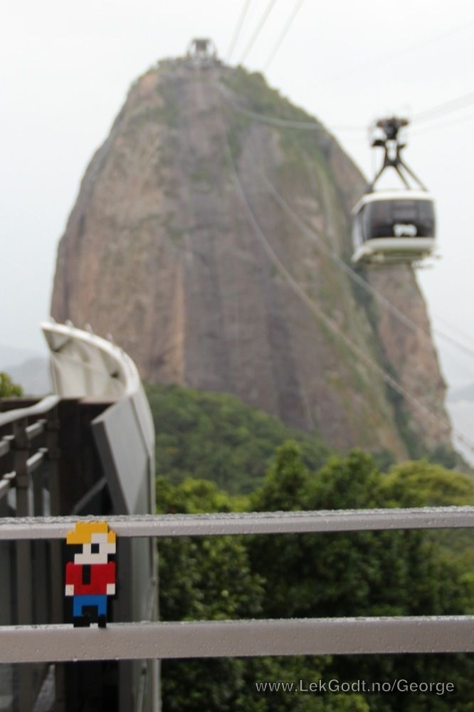 LEGO Life of George in Rio de Janeiro, Sugar Loaf Mountain
