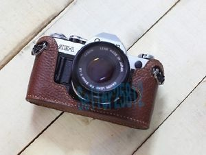 Real Leather Case Bag Cover for Canon AE 1 AE1 Camera | eBay