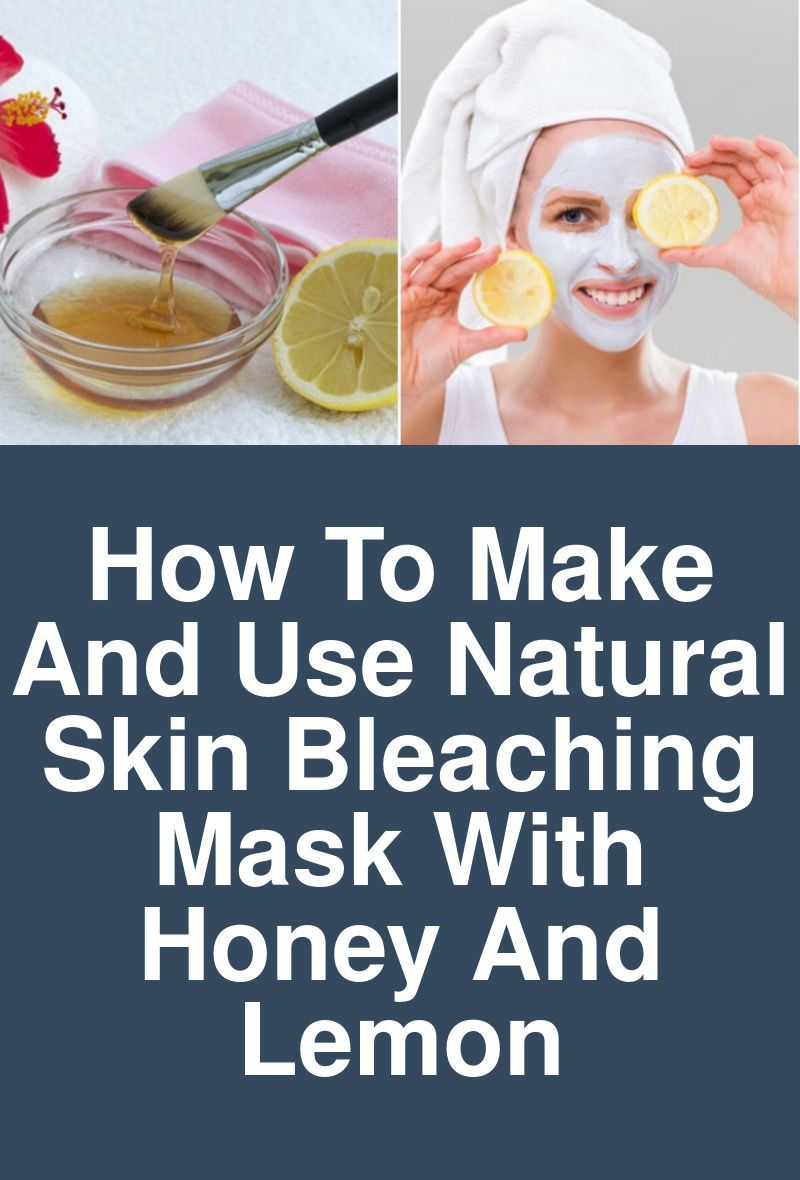 How To Make and Use Natural Skin Bleaching Mask With Honey