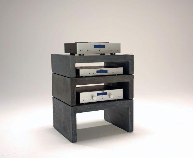Hifi möbel selber bauen  Olo.li Modular Concrete HiFi Rack | Vinyl | Pinterest | Hifi möbel ...